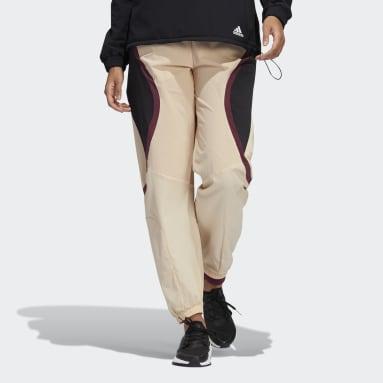 Kvinder Løb Pink Coldweather AEROREADY Training bukser