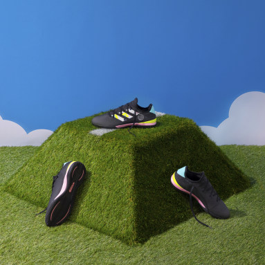 Football Black Gamemode Knit Indoor Boots