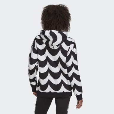 Sudadera con capucha Marimekko Negro Mujer Originals