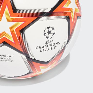 Fußball UCL Pyrostorm Competition Ball Weiß
