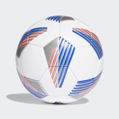 Men Football White Tiro Competition Ball