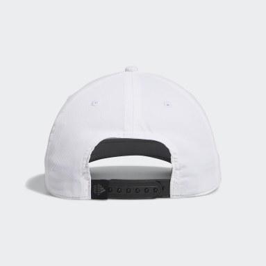 Men Golf White Tour Snapback Cap
