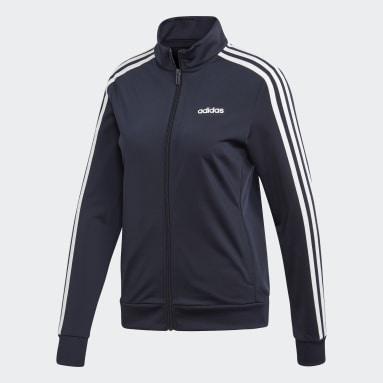 Women's Essentials Blue Essentials Tricot Track Jacket