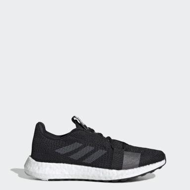 ผู้หญิง วิ่ง สีดำ รองเท้า Senseboost Go