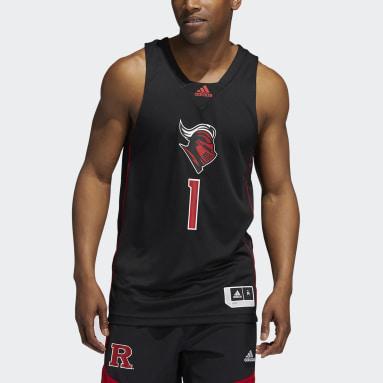 Men's Basketball Black Scarlet Knights NCAA Swingman Jersey