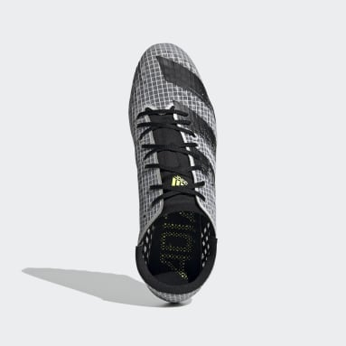 Männer Leichtathletik Adizero Finesse Spike-Schuh Weiß