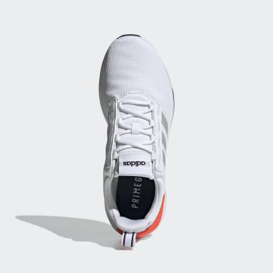 Men Sport Inspired White Racer TR21 Shoes