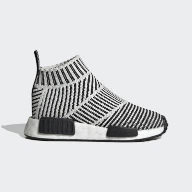 Kids Originals Black NMD_CS1 Primeknit Shoes