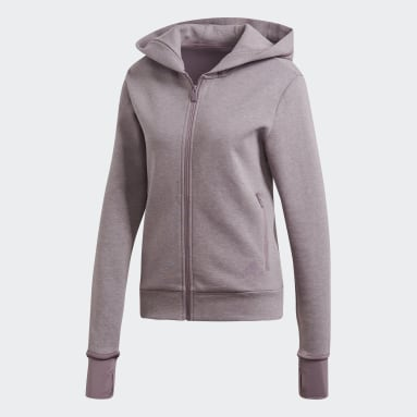 Chaqueta con capucha Must Haves Versatility Violeta Mujer Sportswear