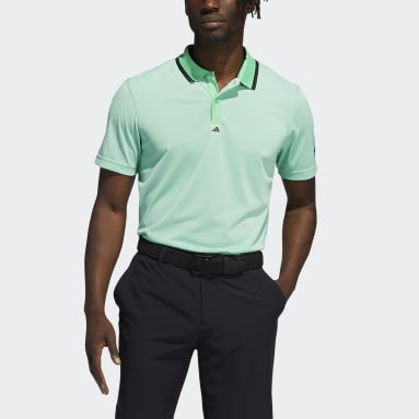 Men Golf Green Equipment Primegreen Polo Shirt