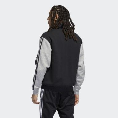 Men's Originals Black Firebird Fleece Track Jacket