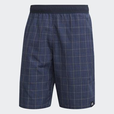 Short de bain Check CLX Bleu Hommes Sports Nautiques