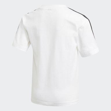 T-shirt Disney Mickey Mouse Blanc Garçons Fitness Et Training