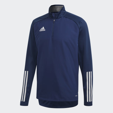 Men Gym & Training Blue Condivo 20 Warm Top