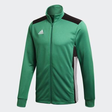 Chaqueta Regista 18 Verde Hombre Gimnasio Y Entrenamiento