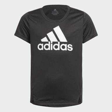 Girls Lifestyle Black adidas Designed To Move Tee