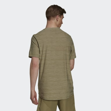 T-shirt AEROREADY Designed To Move Sport Stretch Verde Uomo Fitness & Training