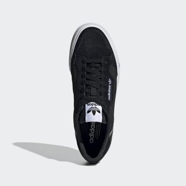 Dames Originals Zwart Continental Vulc Schoenen