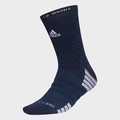 Soccer Blue Creator 365 Crew Socks