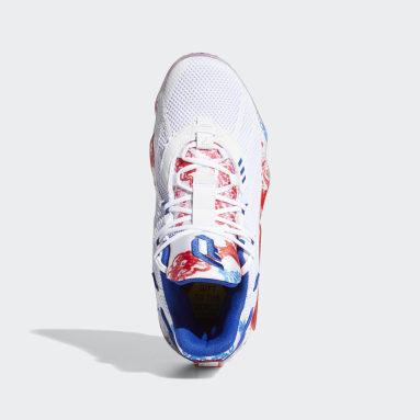 Basketball White Dame 7 Shoes Fine China
