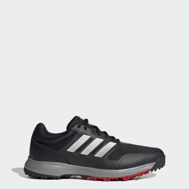 Men Golf Black Tech Response SL Spikeless Golf Shoes
