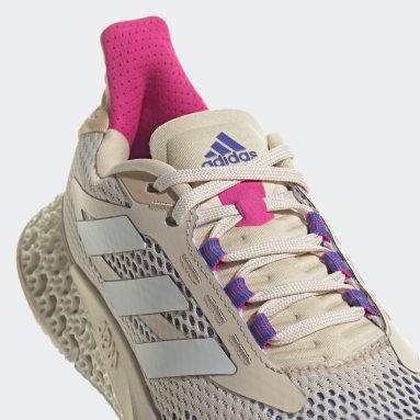 Zapatilla adidas 4DFWD Pulse Beige Mujer Running