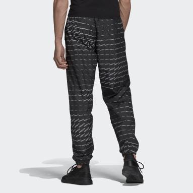 Men Originals Black Graphics Monogram Track Pants