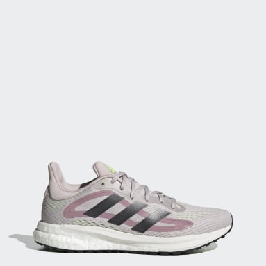 Women's Running Purple SolarGlide 4 Shoes