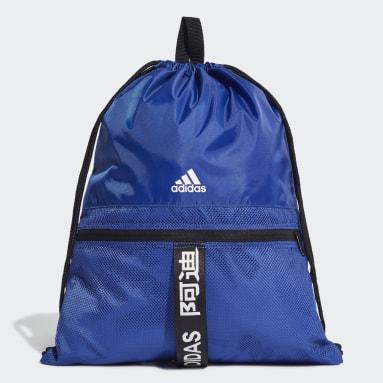 Fitness Og Træning Blå 4ATHLTS gymnastikpose