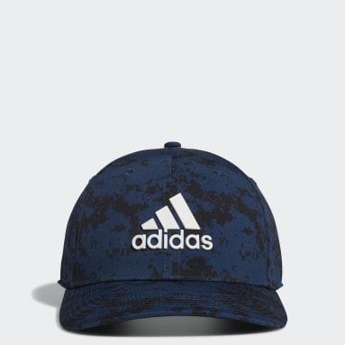 Men's Golf Blue Tour Camo-Print Hat
