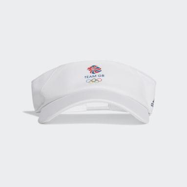 Winter Sports White Team GB Visor