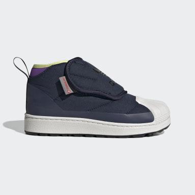 Børn Originals Blå Superstar 360 støvler