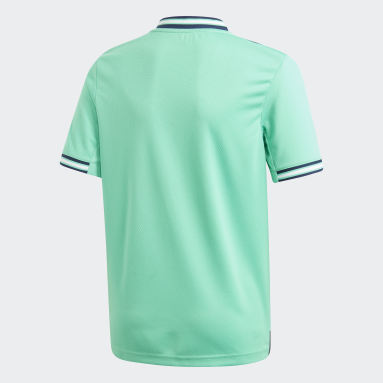 Boys Fodbold Grøn Real Madrid tredjetrøje