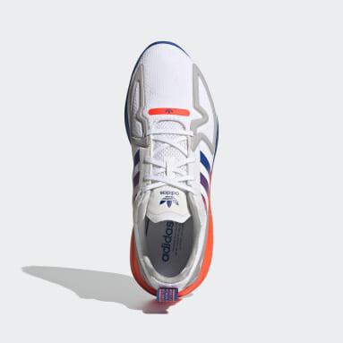 Originals White ZX 2K Flux Shoes