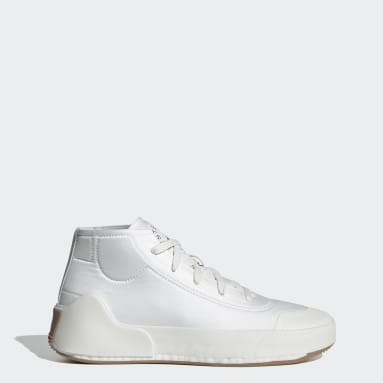 adidas by Stella McCartney Treino Mid-Cut Sko Hvit