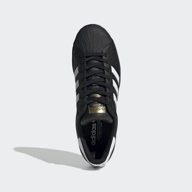Originals Sort Superstar sko