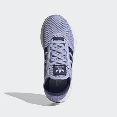 Tenis Swift Run X Violeta Niño Originals