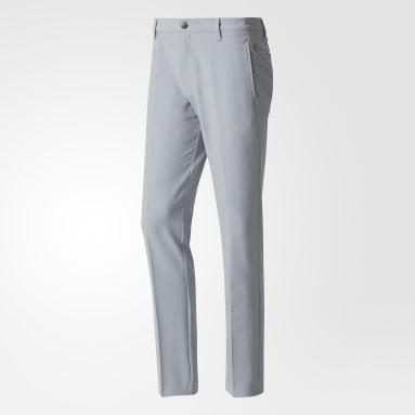 Pantaloni Ultimate 365 3-Stripes Tapered Grigio Uomo Golf