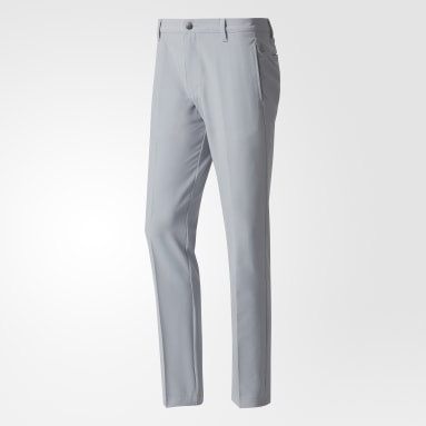 Men Golf Grey Ultimate 365 3-Stripes Tapered Trousers