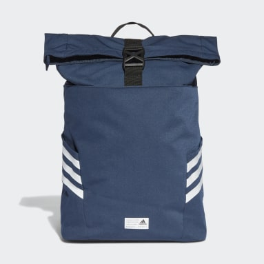 Lifestyle Blue Classic Roll-Top Backpack