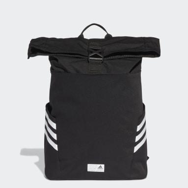 ไลฟ์สไตล์ สีดำ กระเป๋าเป้ Classic Roll-Top