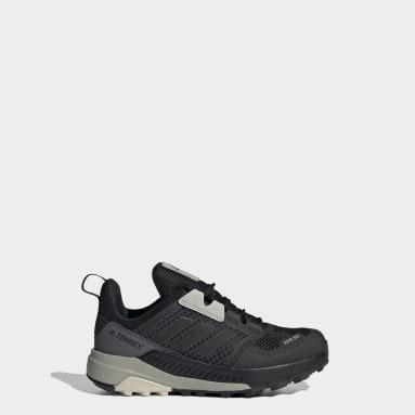 Children TERREX Black Terrex Trailmaker RAIN.RDY Hiking Shoes