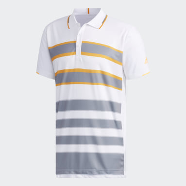 Men Tennis White CCTCLUB M POLO