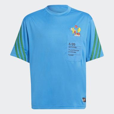 Camiseta adidas x Classic LEGO® Azul Niño Gimnasio Y Entrenamiento