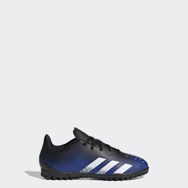 Kids 4-8 Years Football Blue Predator Freak.4 Turf Boots