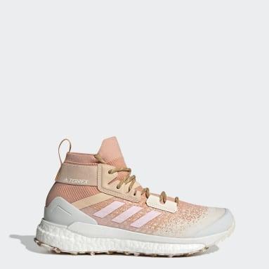 Terrex Free Hiker Primeblue Hiking Shoes Różowy