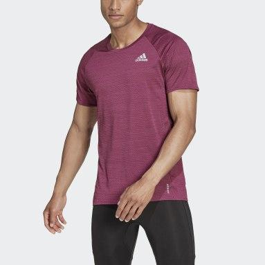 Men's Running Burgundy Runner Tee