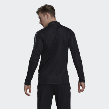 Men's Soccer Black Tiro Reflective Track Jacket