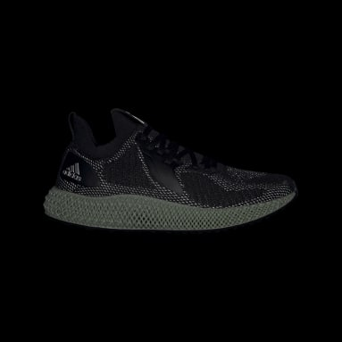 Running Black Alphaedge 4D Reflective Shoes