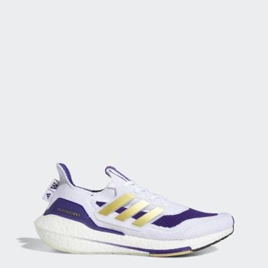 Running White Washington Ultraboost 21 Shoes